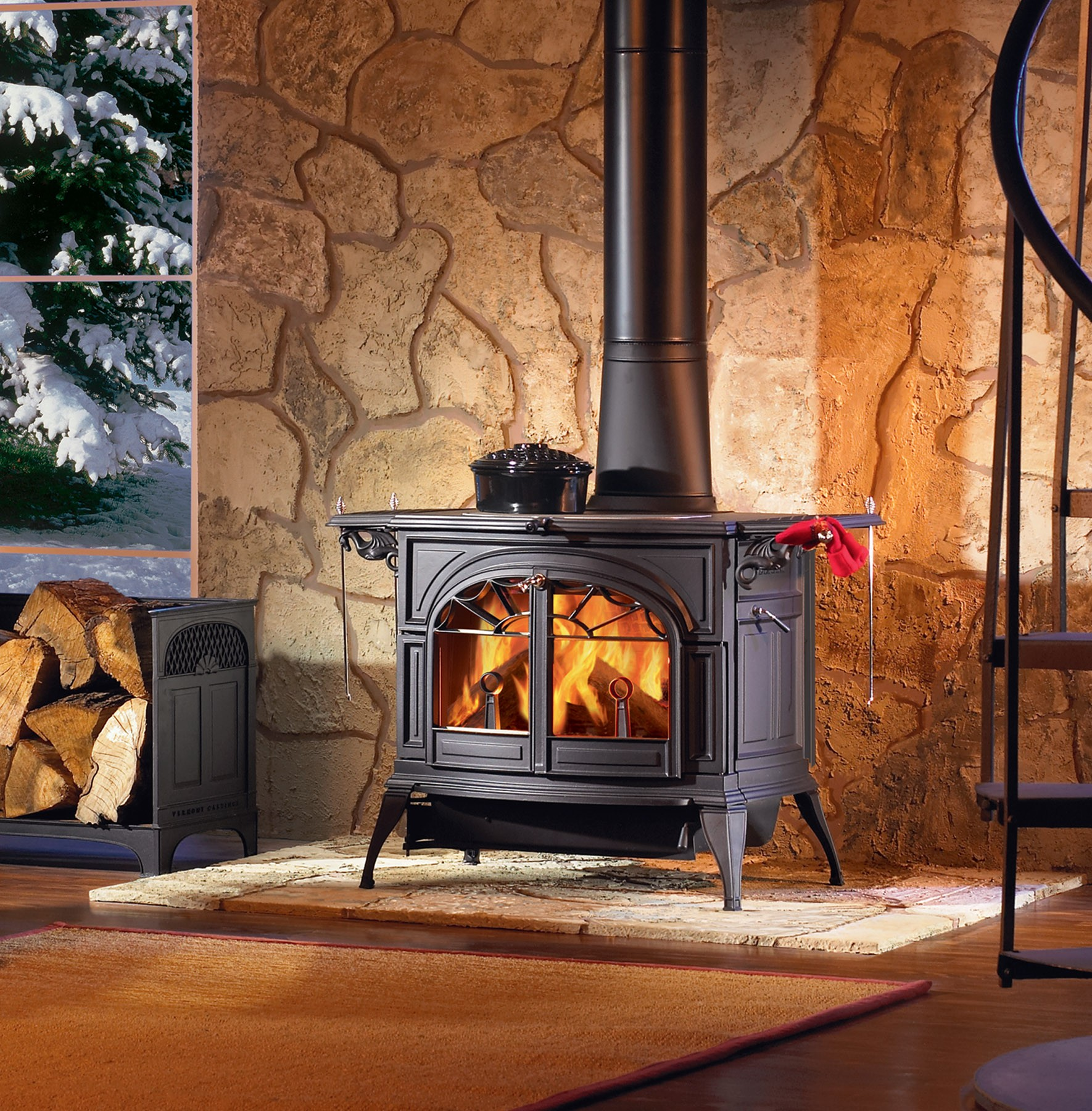Inserts fireplace accessories new york by bowden s fireside - Dutchwest Catalytic Wood Burning Stoves By Monessen Hearth