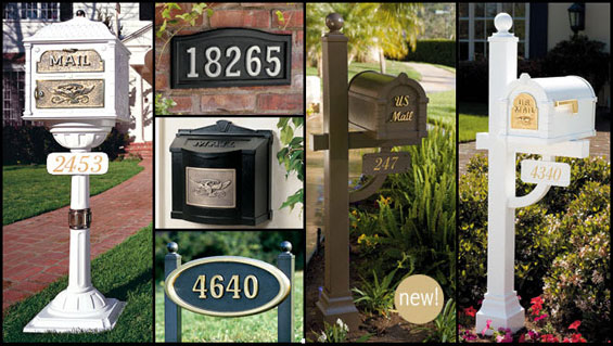 gaines mailboxes and plaques