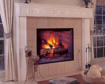 Colonial Wood Burning Fireplace · lennox_wood_burning_fireplace_colonial - Bowden's Fireside » Blog Archive Colonial Wood Burning Fireplace