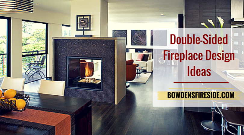 Want to make your grand fireplace the center of attention in more room than one? Why not consider a double sided fireplace? Here are some fireplace design..