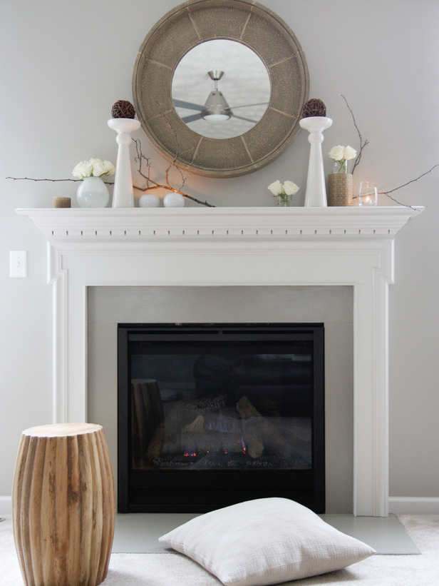 Inspiration For Decorating Your Fireplace Mantel Year Round